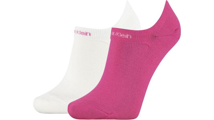 Calvin Klein Damen Sneaker Socken Gripper Leanne 2er Pack