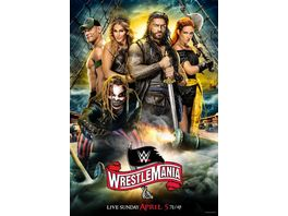 WWE WrestleMania 36 3 DVDs
