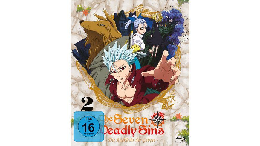 The Seven Deadly Sins Die Rueckkehr der Gebote 2 Staffel Vol 2 Eps 7 12