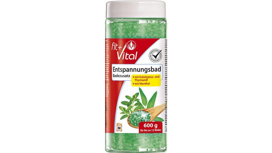 Fit + Vital Entspannungsbad mit Eukalyptus