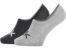 Calvin Klein Herren Sneaker Socken Logo Finley 2er Pack