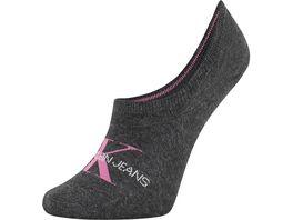 Calvin Klein Damen Sneaker Socken Jeans Logo Brooklyn