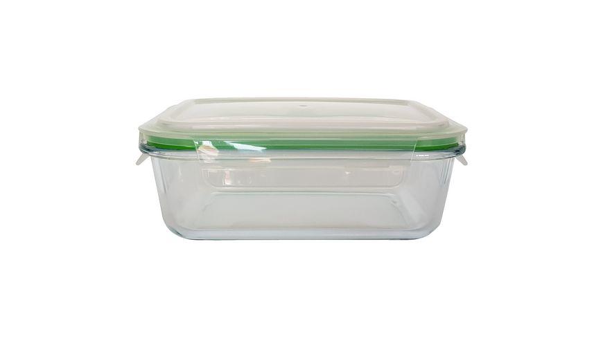 CleanPac Vorratsdose Glas-Klickbox 1l