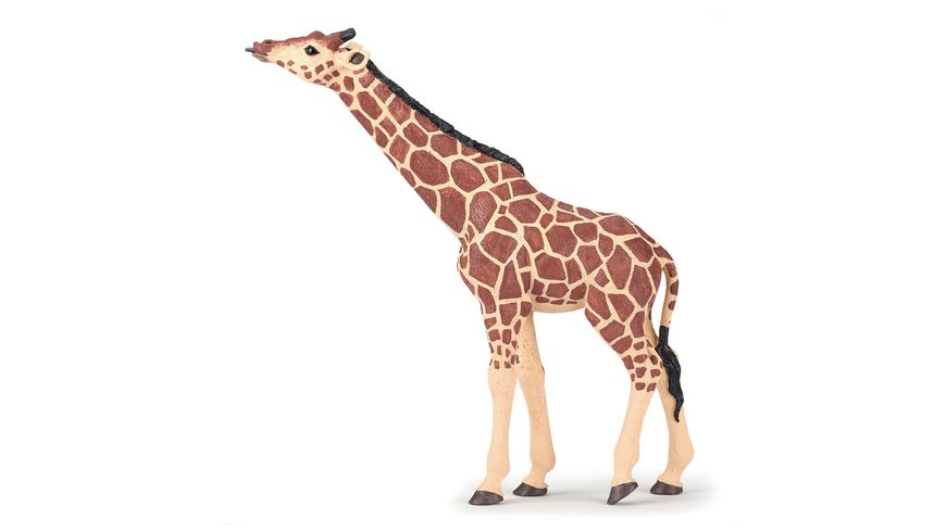 Papo Giraffe mit erhobenem Kopf