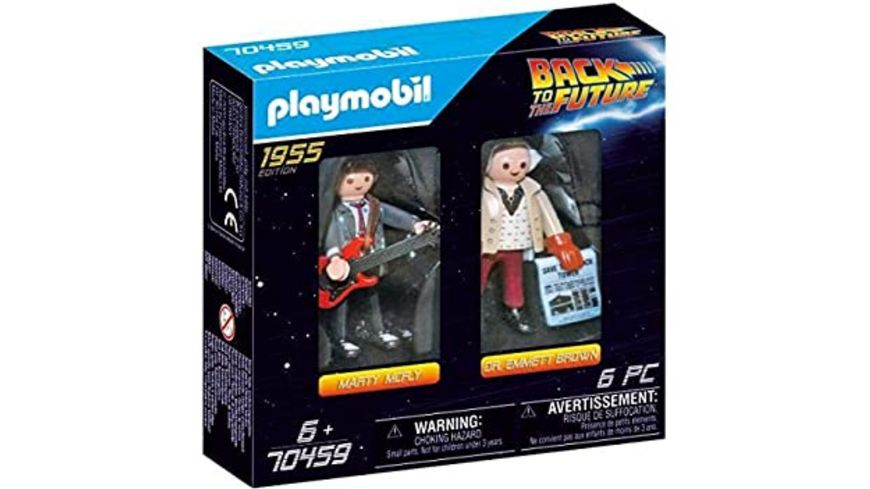 PLAYMOBIL 70459 - Back to the Future - Marty McFly und Dr. Emmett Brown