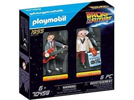 PLAYMOBIL 70459 Back to the Future Marty McFly und Dr Emmett Brown