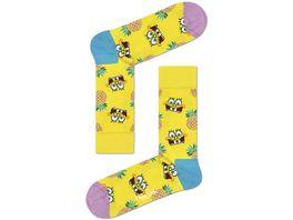 Happy Socks Sponge Bob Fineapple Surprise Sock Unisex