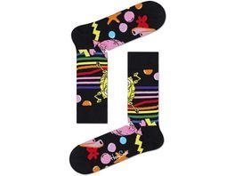 Happy Socks Sponge Bob Bubble In Paradise Sock Unisex