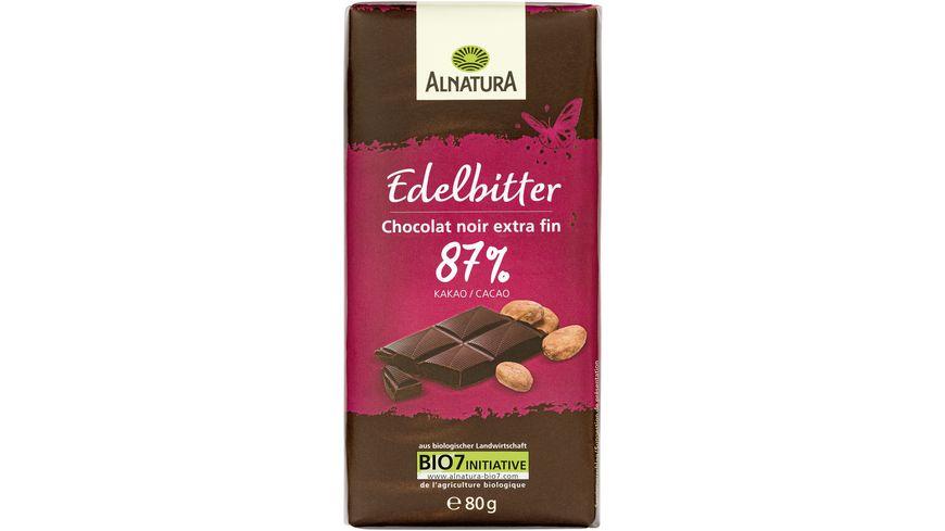 Alnatura Edelbitter Schokolade