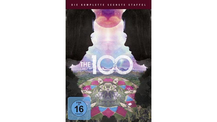 The 100 Die komplette 6 Staffel 3 DVDs