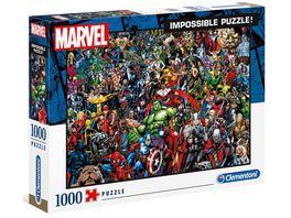 Clementoni Marvel 1000 teile Impossible Puzzle