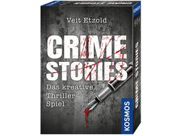 KOSMOS Veit Etzold Crime Stories Das kreative Thriller Spiel