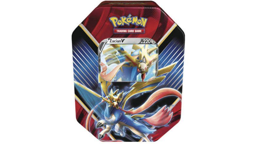 Pokemon Sammelkartenspiel Tin Box Galar Legende Zacian V