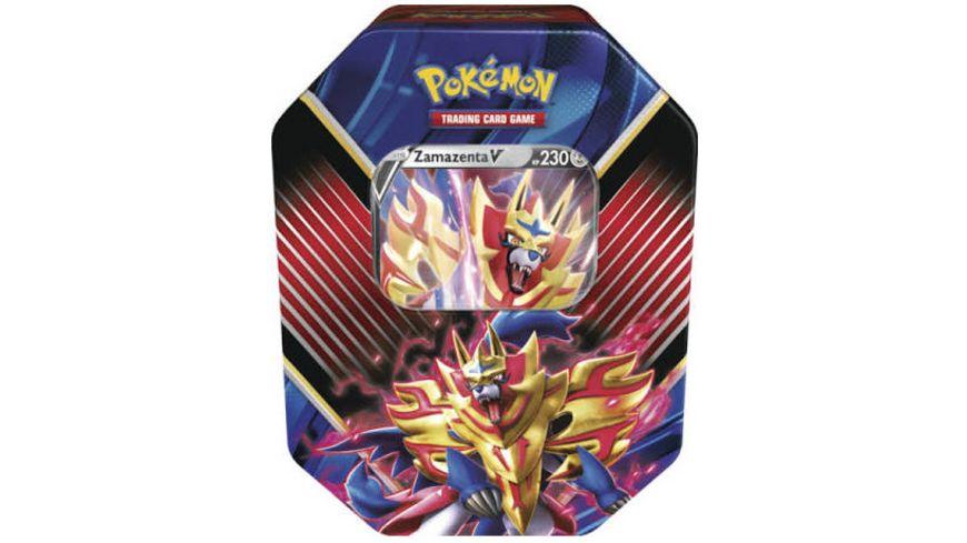 Pokemon Sammelkartenspiel Tin Box Galar Legende Zamazenta V