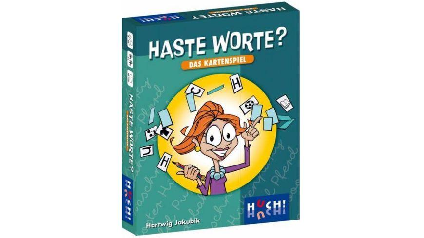 Huch Verlag Haste Worte Das Kartenspiel