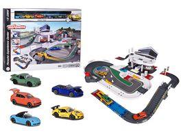 Majorette Porsche Experience Center 5 Fahrzeuge