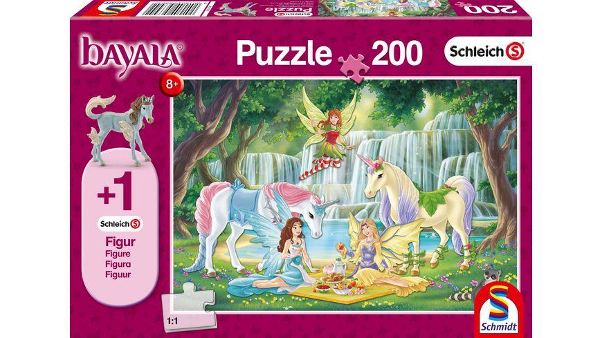 Schmidt Spiele Puzzle Schleich Picknick der Elfen 200 Teile