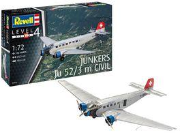 Revell 04975 Junkers Ju52 3m Civil