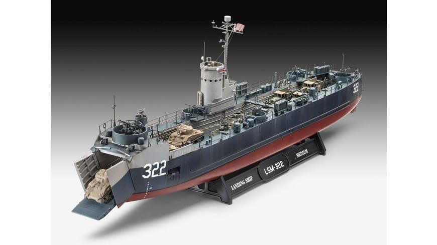 Revell 05169 US Navy Landing Ship Medium Bofors 40 mm gun