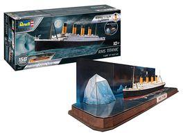 Revell RMS Titanic plus 3D Puzzle Iceberg 1 600
