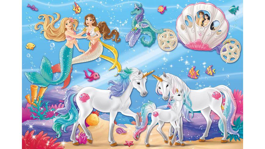 Schmidt Spiele Puzzle Schleich Der Zauber der Meerjungfrauen 60 Teile