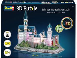 Revell 00151 3D Puzzle Schloss Neuschwanstein with LED