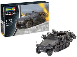 Revell 03324 Sd Kfz 251 1 Ausf C Wurfr 4