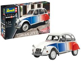 Revell 07653 Model Set Citroen 2 CV Cocorico
