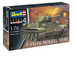 Revell 03294 T 34 76 Modell 1940