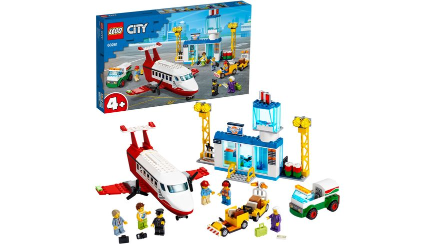 LEGO City - 60261 Flughafen