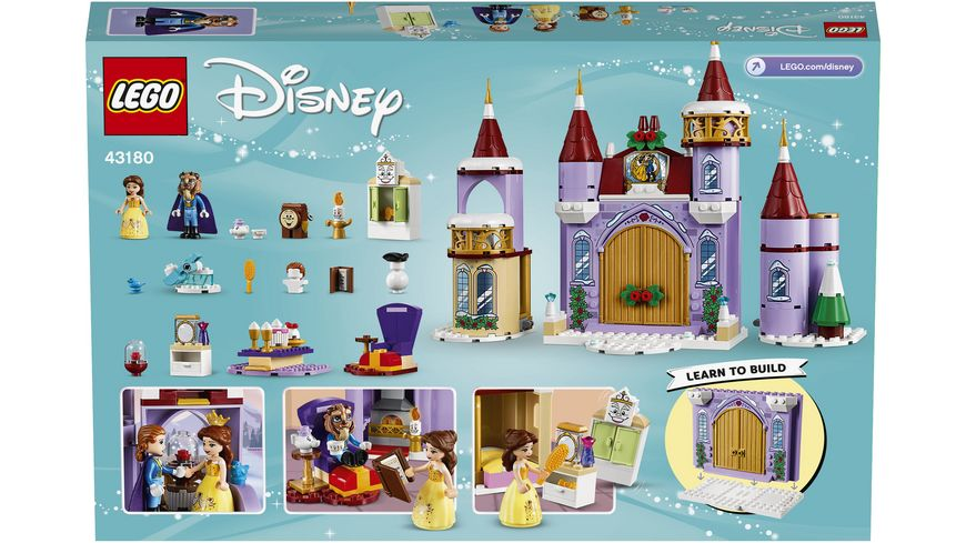 LEGO Disney Princess 43180 Belles winterliches Schloss