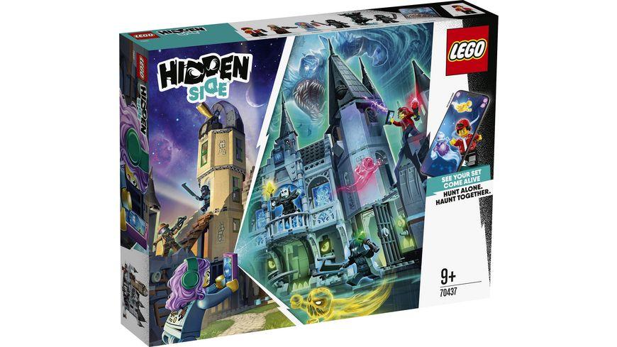LEGO Hidden Side 70437 Geheimnisvolle Burg