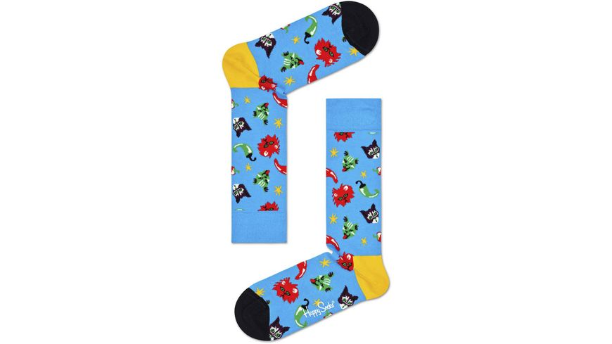 Happy Socks Unisex Socken Chili Cat