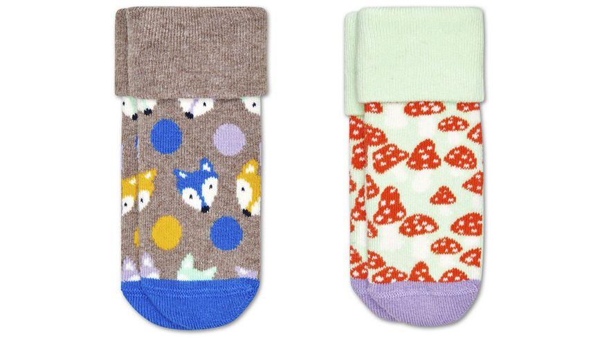 Happy Socks Kinder Socke Fox 2er Pack