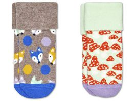 Happy Socks Kinder Socke Fox 2er Pack