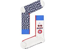 Happy Socks Socke Half Optic Unisex