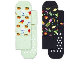 Happy Socks Kinder Socke Food 2er Pack