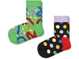 Happy Socks Kinder Socken Pen 2er Pack