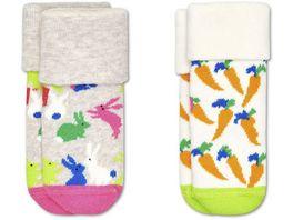 Happy Socks Kinder Socke Bunny 2er Pack