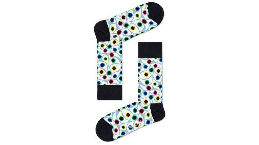 Happy Socks Socke Organic Eyes Unisex