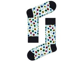 Happy Socks Socke Organic Eyes Unisex