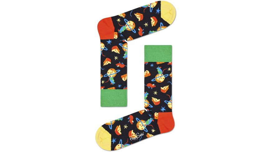 Happy Socks Unisex Socken Moon Mouse