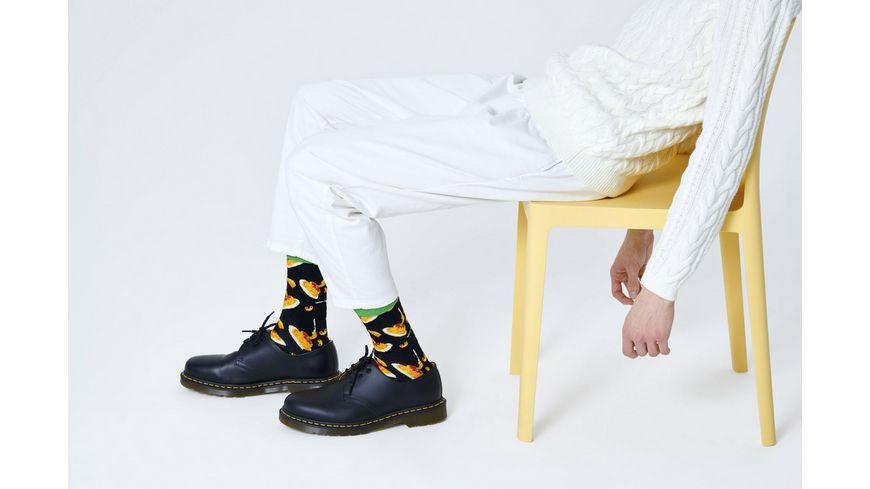 Happy Socks Socke Mac Cheese Unisex