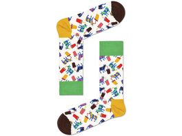 Happy Socks Socke Milkshake Cow Unisex