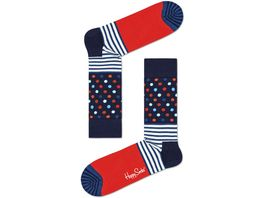 Happy Socks Unisex Socken Stripes and Dots