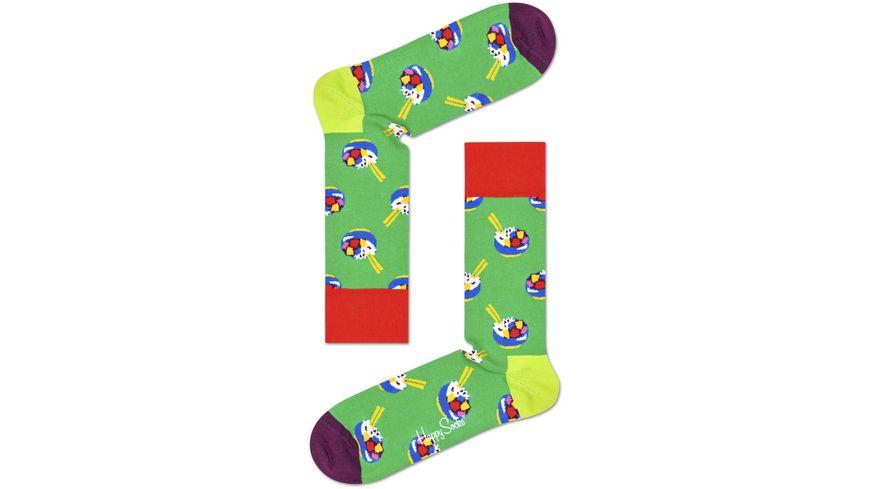 Happy Socks Unisex Socken Poke Bowl