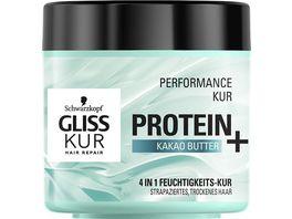 SCHWARZKOPF GLISS KUR Protein Kakao Butter Performance Kur