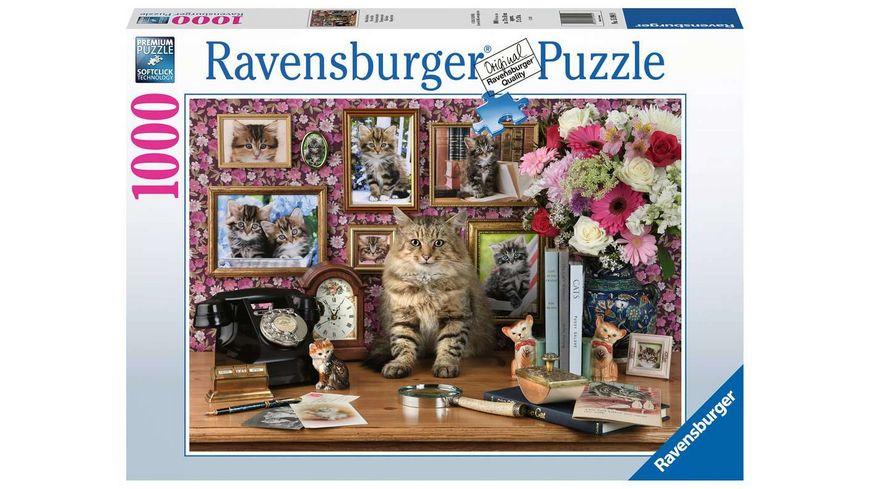Ravensburger Puzzle Meine Kaetzchen 1000 Teile
