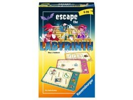 Ravensburger Spiel Mitbringspiel Escape the Labyrinth kooperatives Raetsel Labyrinth ab 6 Jahren