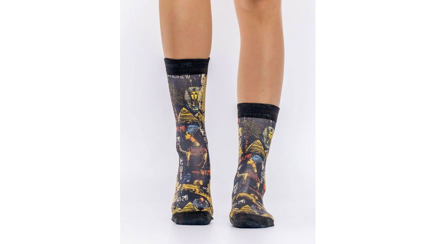 wigglesteps Damen Socke EGYPTION ICONS
